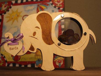 pokladnička sloník