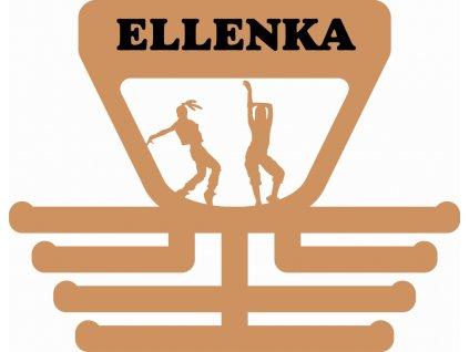 Věšák na medaile pro tanečnici disco - Ellenka