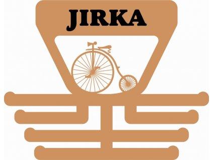 věšák na úspěchy pro jezdce na velocipedu