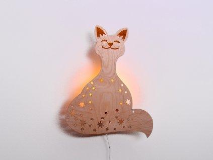 ětské nástěnné svítidlo liška