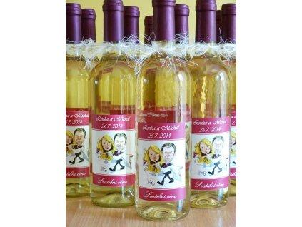 Svatební víno Ryzlink Vlašský