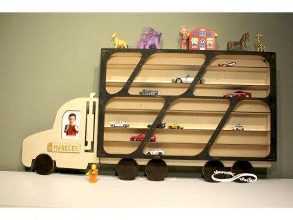 dětské poličky na autíčka