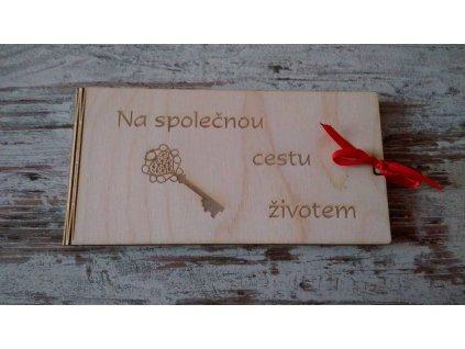 Krabička na peníze motiv Klíč