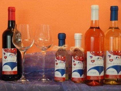 Svatební víno Cabernet Moravia