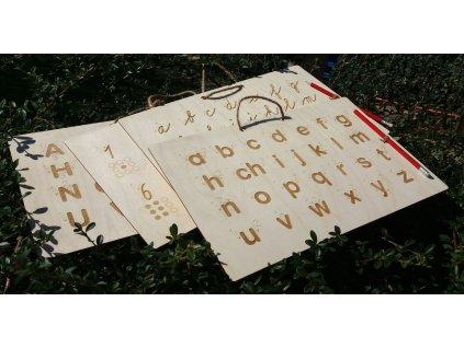 Sada tabulek pro nácvik psaní