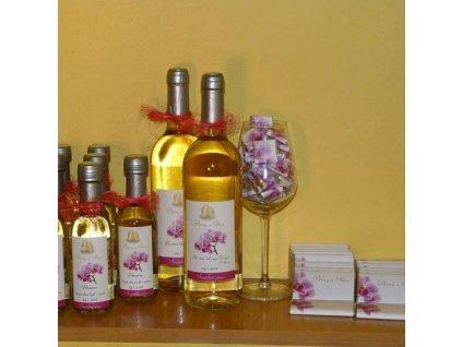 Svatební víno Müller Thurgau