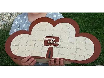kniha hostů  - puzzle