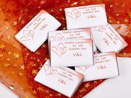 svatební čokolády 20g