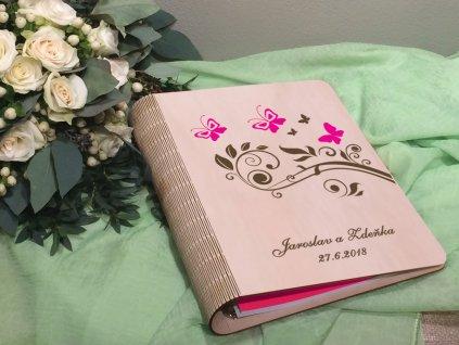 Fotoalbum pro vaše svatební fotografie