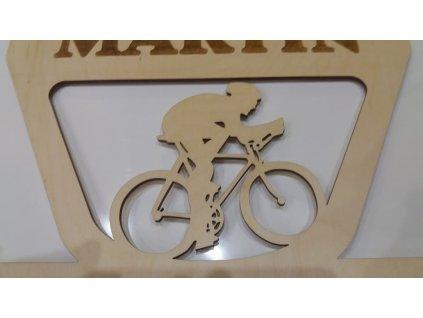 věšák na medaile cyklistika