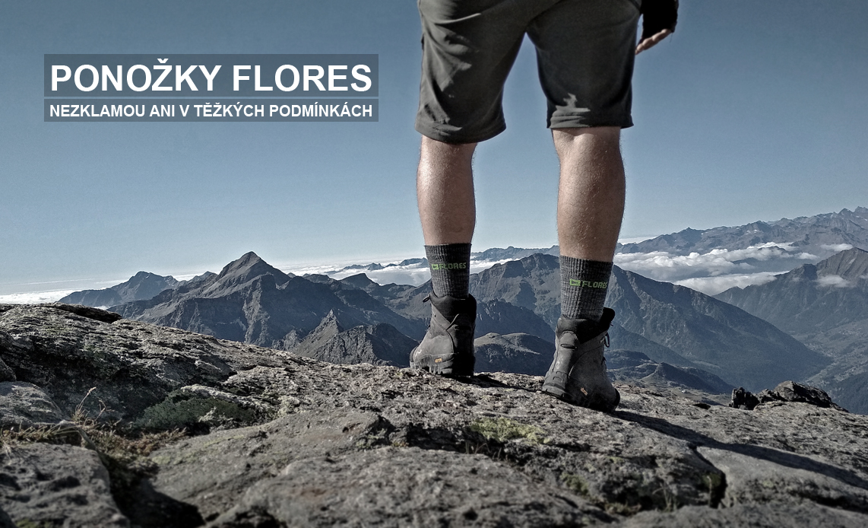 Ponožky FLORES
