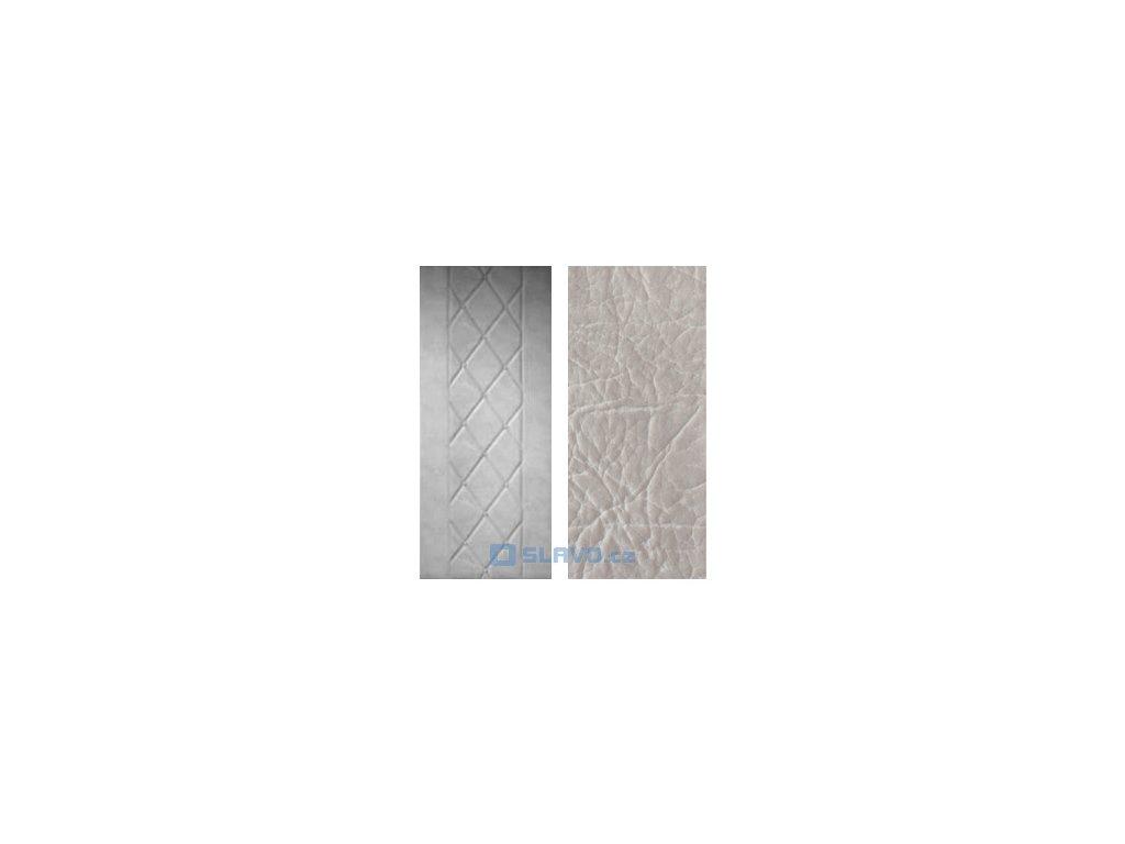 HOPA Lux 90 x 200 cm - šedá extra 22