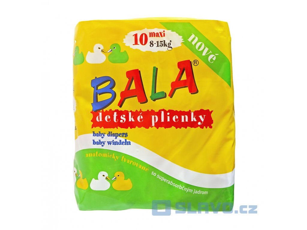 BALA Maxi 8-15 kg 10 ks