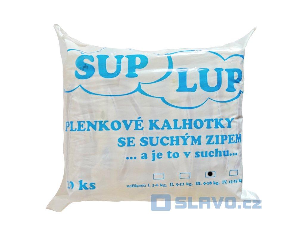 ŠUP LUP III 9-18 kg 100 ks