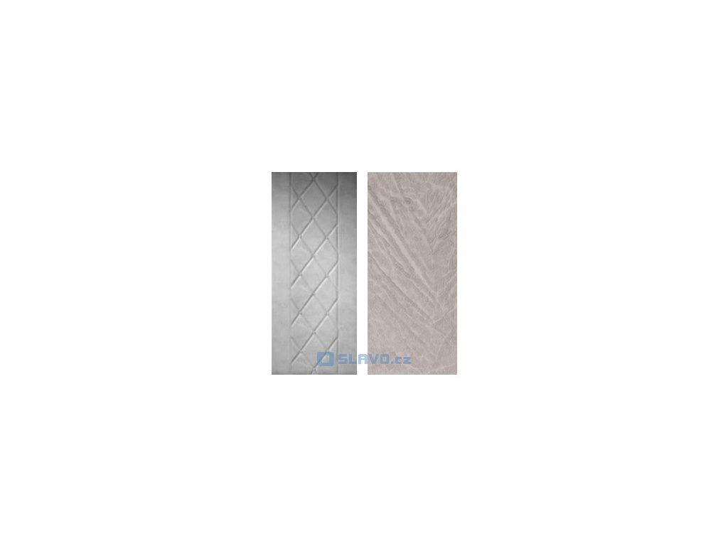 HOPA Lux - šedobílá 02 - atypický rozměr