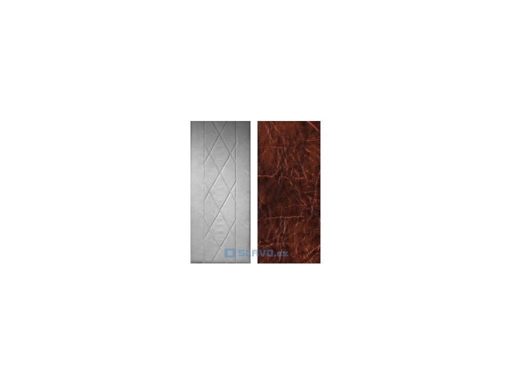 Čalounění dveří HOPA Standard - hnědá extra 27 - atypický rozměr
