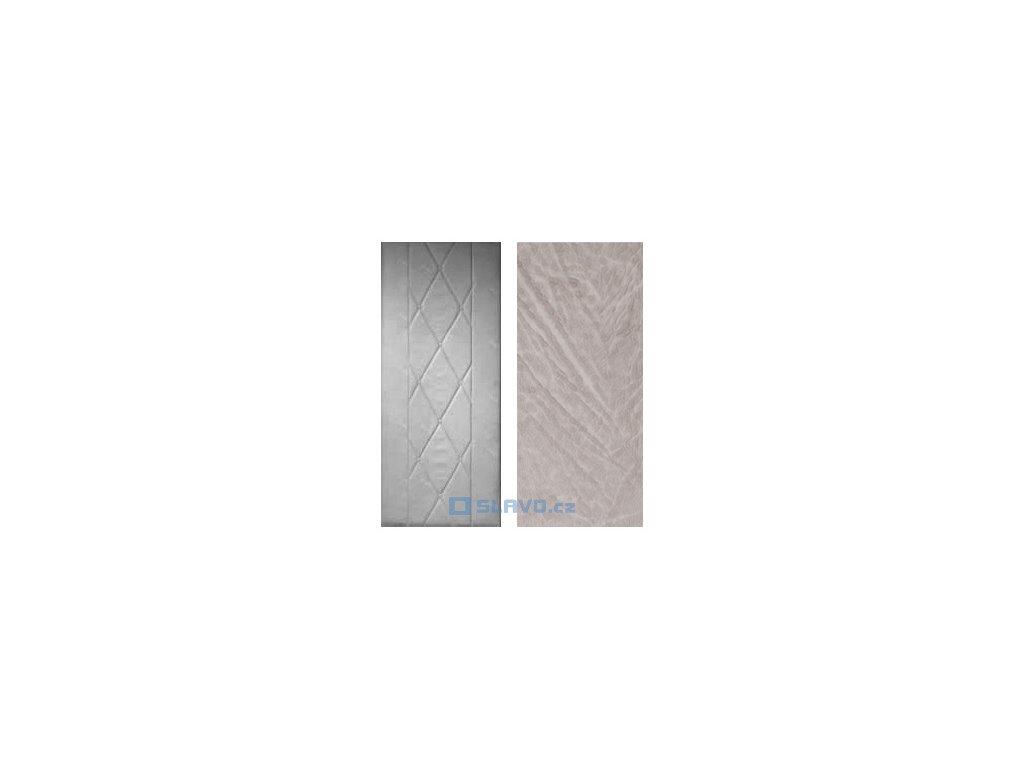 Čalounění dveří HOPA Standard - šedobílá 02 - atypický rozměr