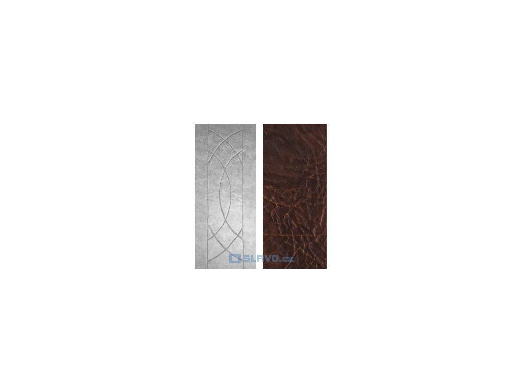 Čalounění dveří HOPA Euro - antracit extra 28 - atypický rozměr