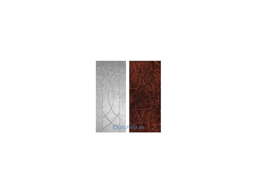 Čalounění dveří HOPA Euro - hnědá extra 27 - atypický rozměr