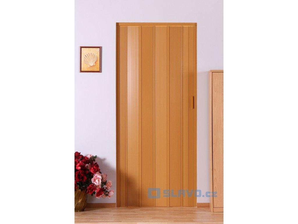 Shrnovací dveře HOPA Luciana - buk 15