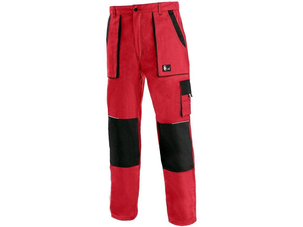 Pracovní kalhoty CXS Luxy Josef - červená/černá