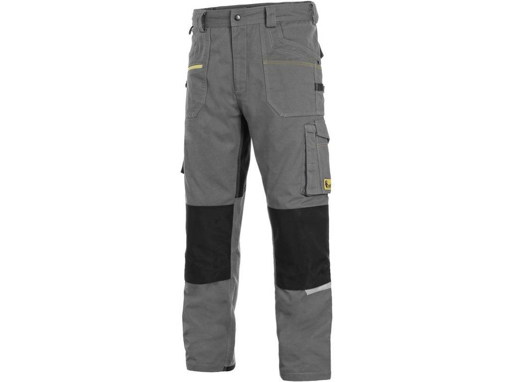 Pracovní kalhoty CXS Stretch - šedá/černá
