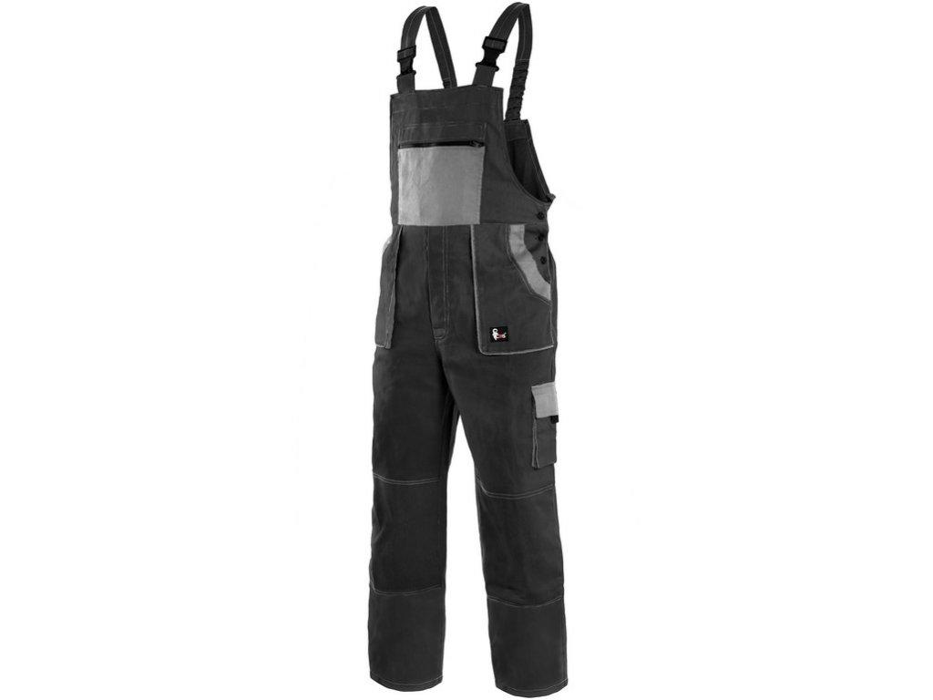 Pracovní kalhoty CXS Luxy Robin - černá/šedá