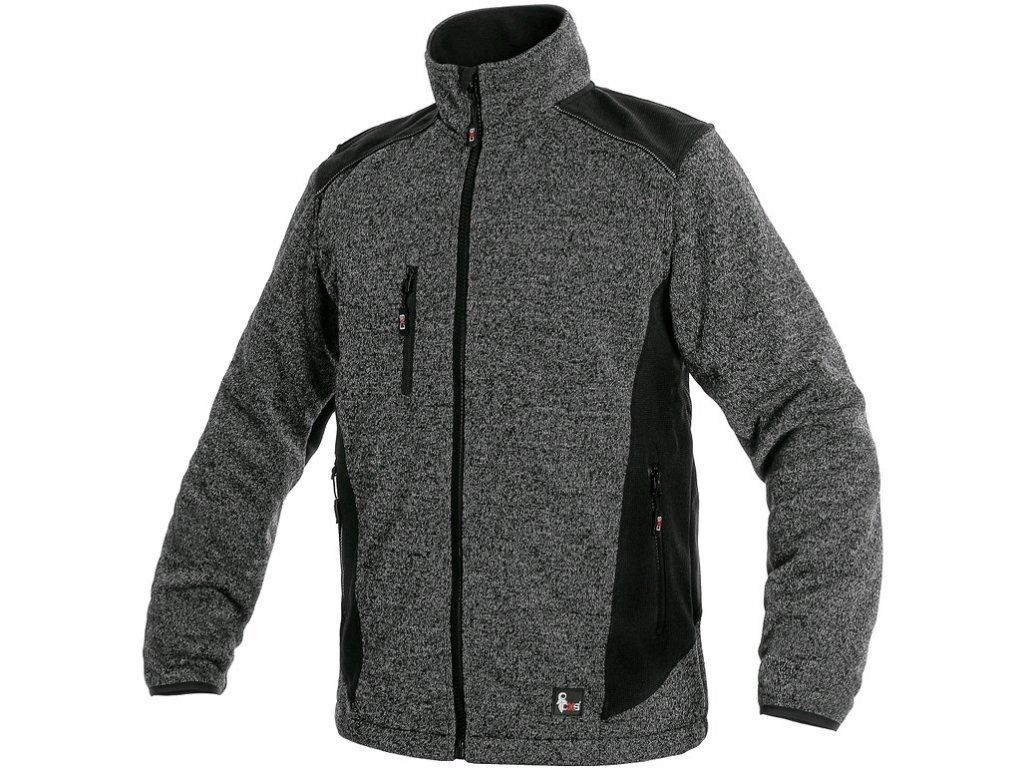Pánská bunda CXS Garland - šedá/černá