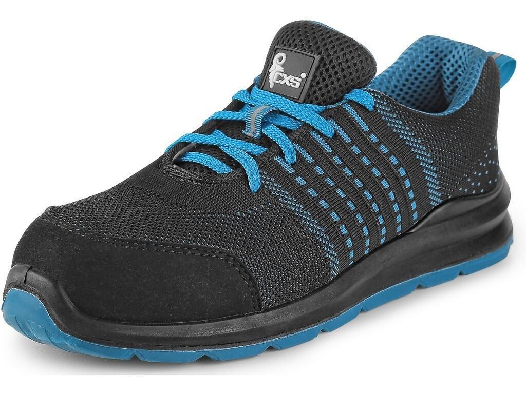 Pracovní obuv CXS Texline Kornat O1 černá/modrá