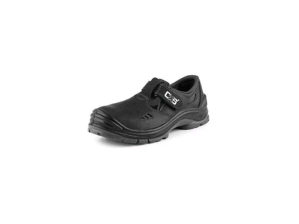 Pracovní sandál CXS Safety Steel Copper O1 černý
