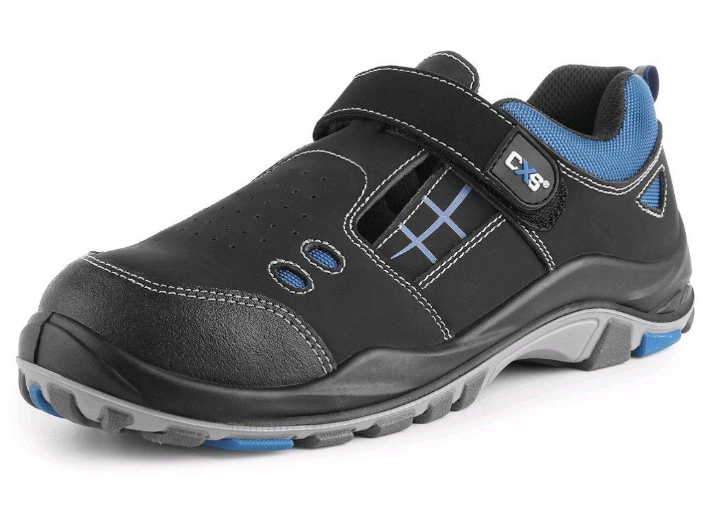 Bezpečnostní sandál  CXS Dog Terrier S1 modrá/černá