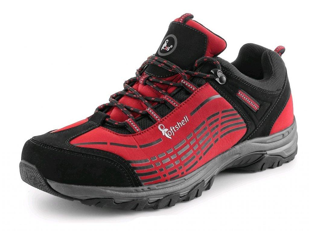 Obuv CXS Sport - červená/černá