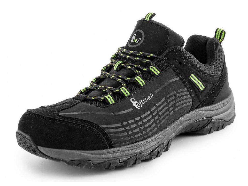 Obuv CXS Sport - černá/zelená