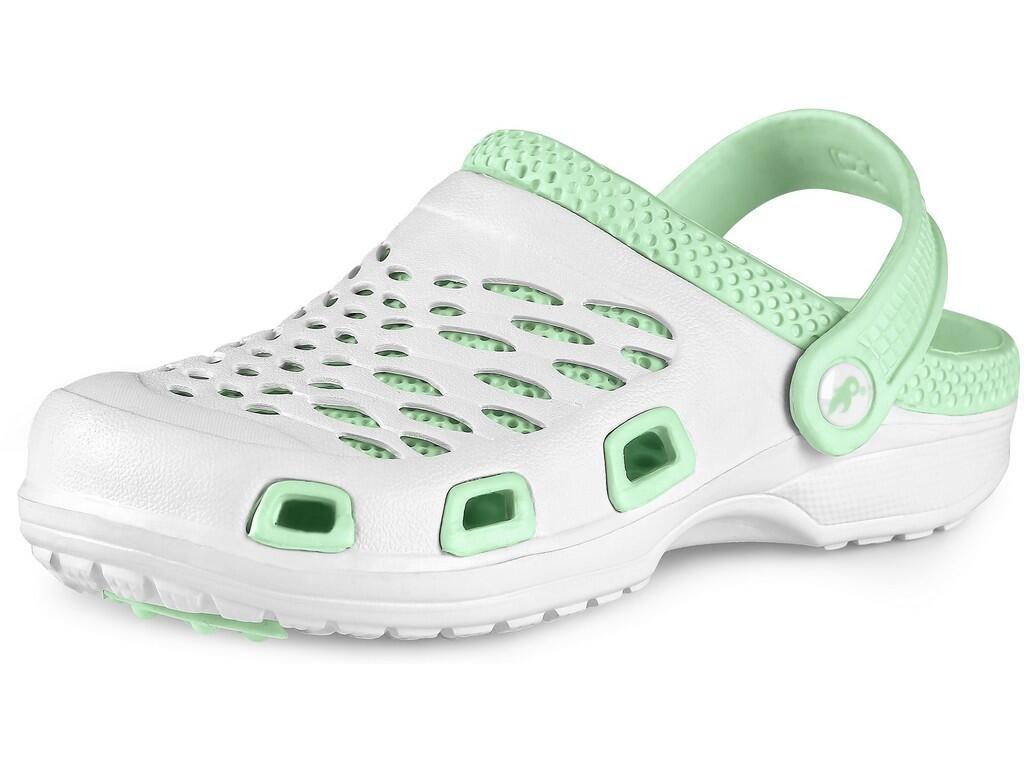 Dámský nazouvák CXS Trend - bílá/zelená