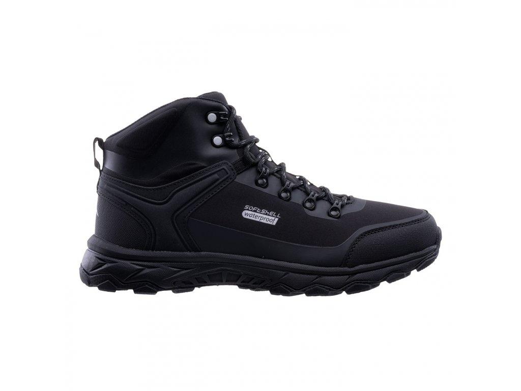 Zimní obuv ELBRUS Eglinter Mid WP - černá