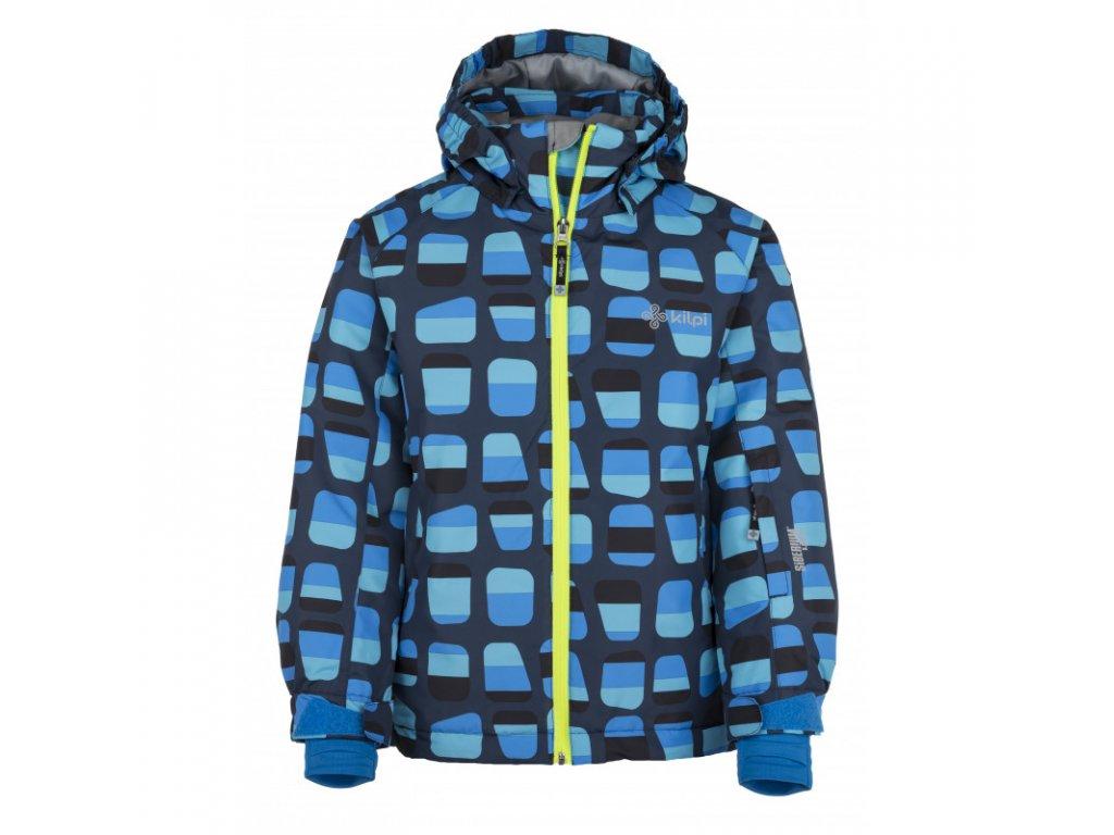 Dětská lyžařská bunda KILPI Benny-JB tmavě modrá