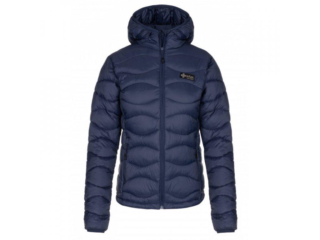 Dámská zimní bunda KILPI Rebeki-W tmavě modrá 092