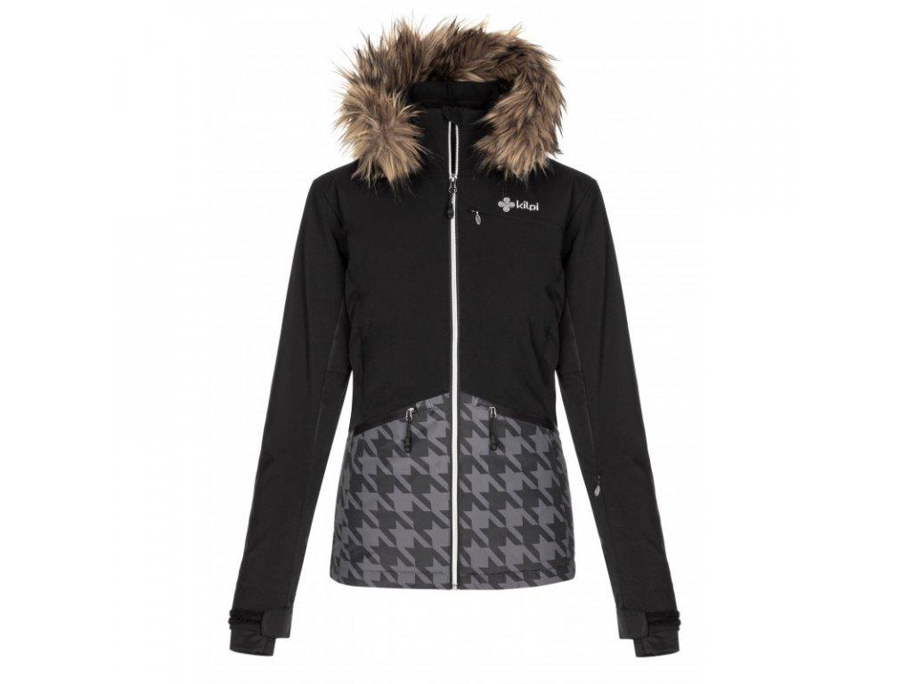 Dámská lyžařská bunda KILPI Tessa-W černá  (vel. 48 - 54)