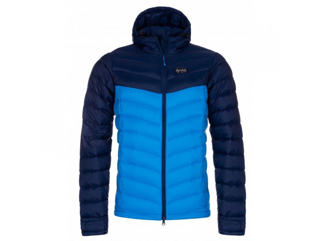 Pánská péřová bunda KILPI Pyramiden-M modrá