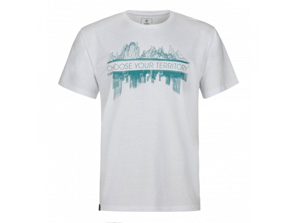 Pánské tričko KILPI Territory-M bílá