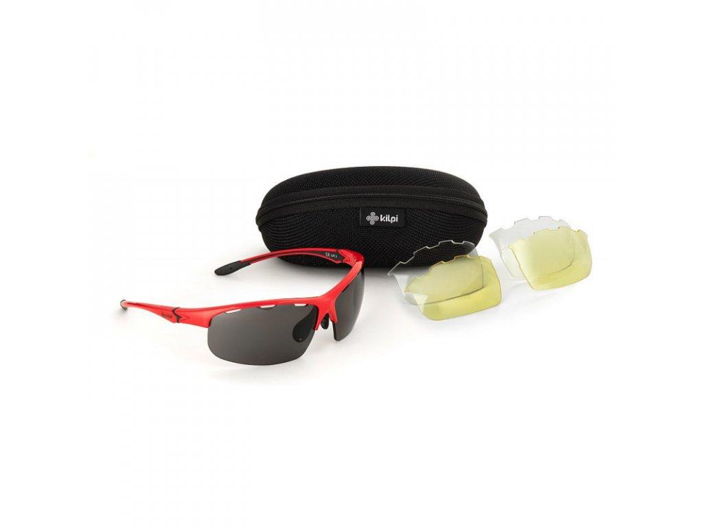 Sluneční brýle KILPI Mori-U červená