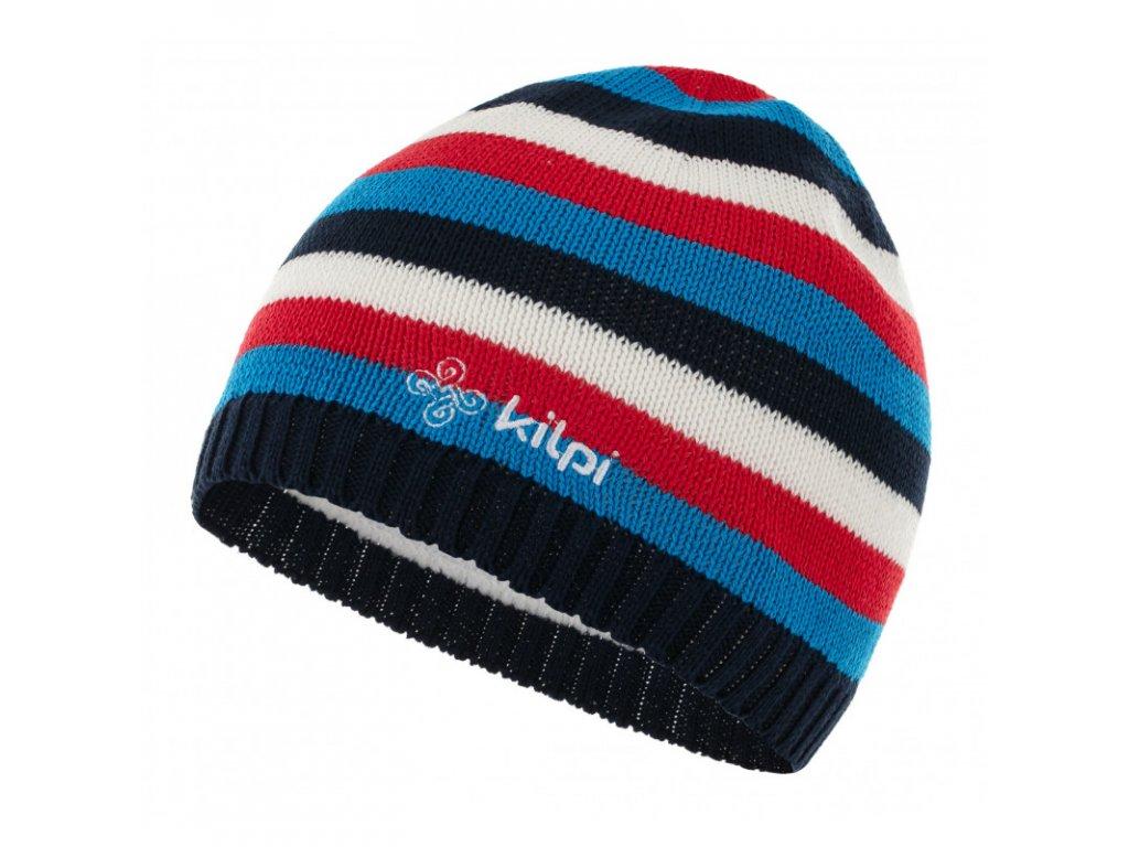 Dětská zimní čepice KILPI Miks-J tmavě modrá
