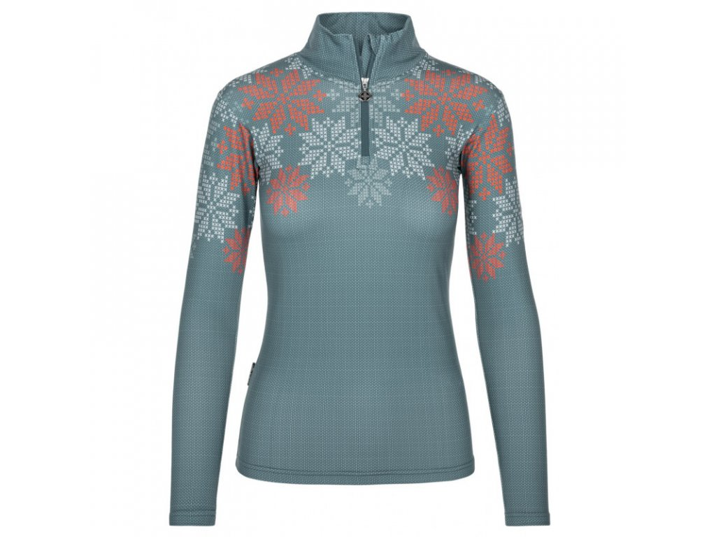 Dámské funkční triko KILPI Leema-W modrá