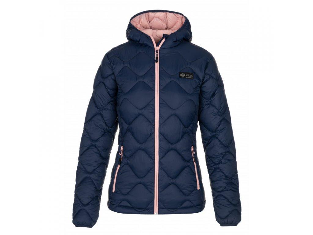 Dámská zimní bunda KILPI Rebeki-W tmavě modrá2