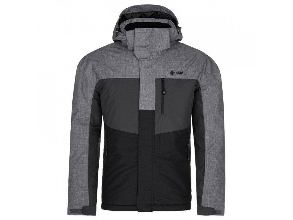 Pánská lyžařská bunda KILPI Ober-M černá/šedá