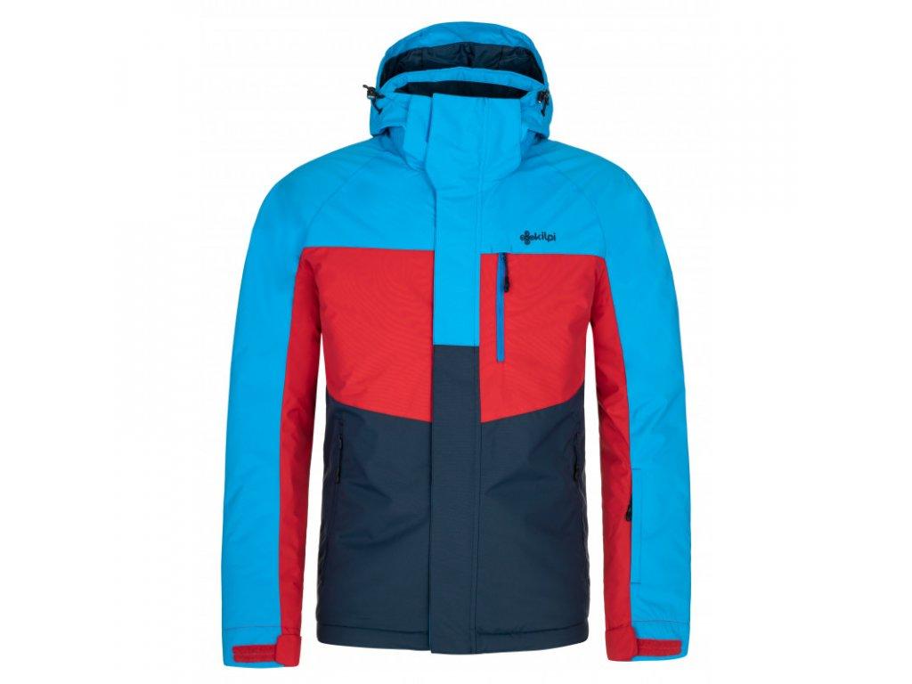 Pánská lyžařská bunda KILPI Ober-M tmavě modrá/červená