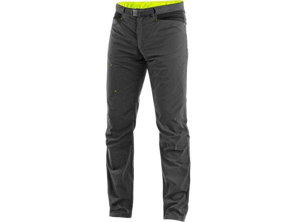 Pánské kalhoty CXS Oregon - šedá/žlutá
