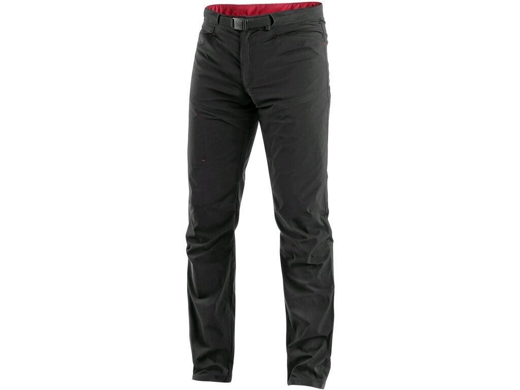 Pánské kalhoty CXS Oregon - černá/červená