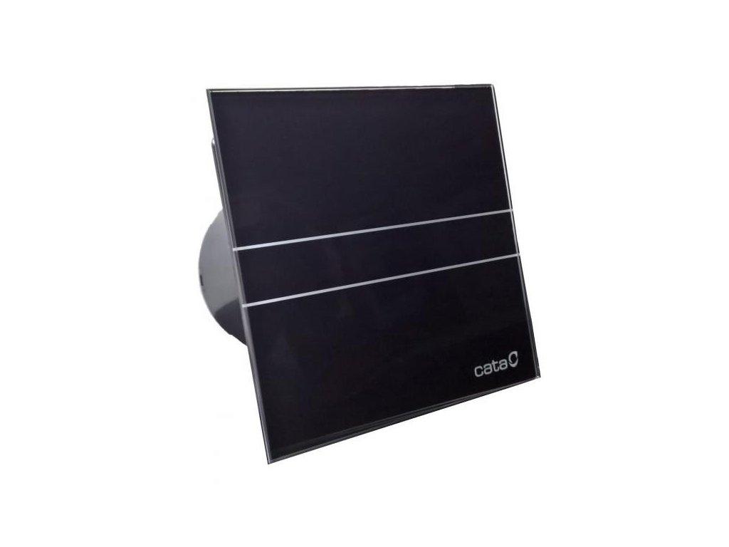 Axiální ventilátory na zeď či do stropu E100 GB, sklo černé