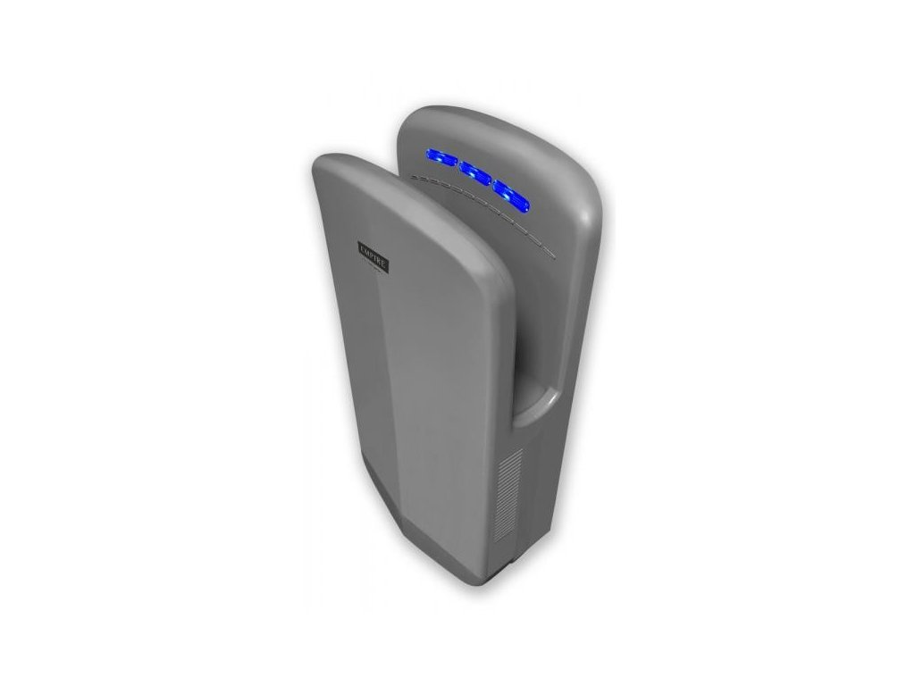 EMPIRE X DRY AUTOMATIC tryskový osoušeč ABS plast, stříbrný